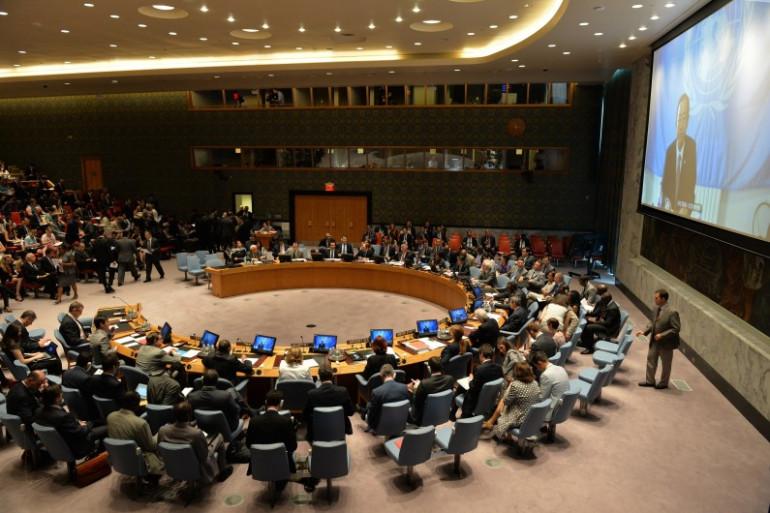 Le Conseil de sécurité de l'ONU (archives).