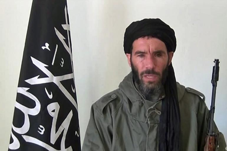 Le groupe jihadiste Al-Mourabitoune,  né de la fusion du groupe de l'Algérien Mokhtar Belmokhtar et du Mujao, a revendiqué l'attentat qui a fait cinq morts à Bamako. (archives)