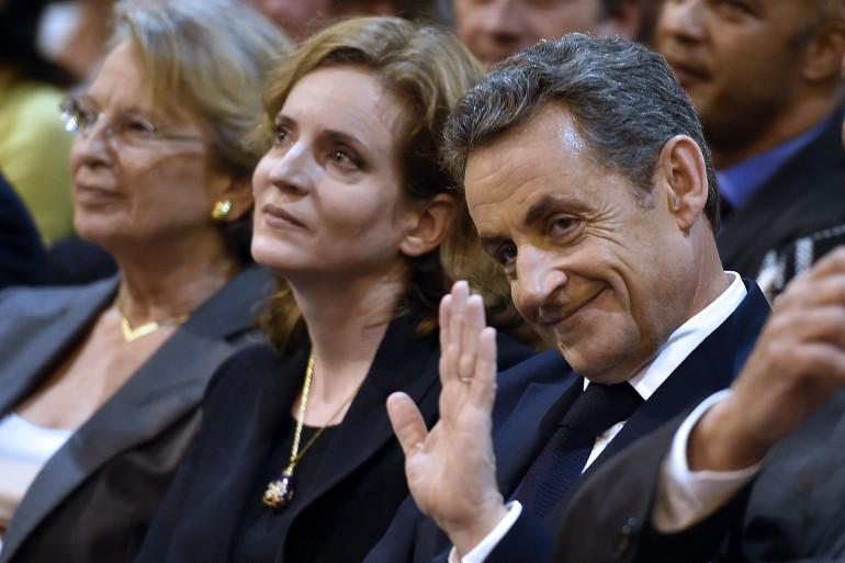 Nathalie Kosciusko-Morizet et Nicolas Sarkozy