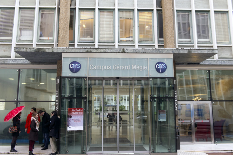 Un bâtiment du Centre national de la recherche scientifique (CNRS)