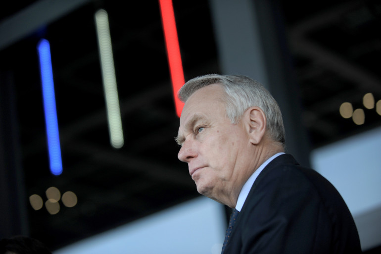 Jean-Marc Ayrault, le 9 avril 2015