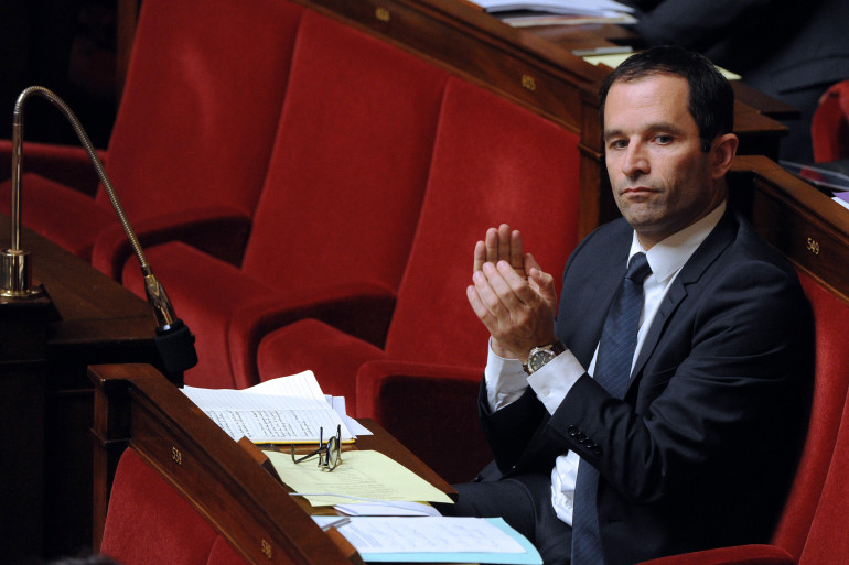 Benoît Hamon le 2 décembre 2014 à l'Assemblée nationale