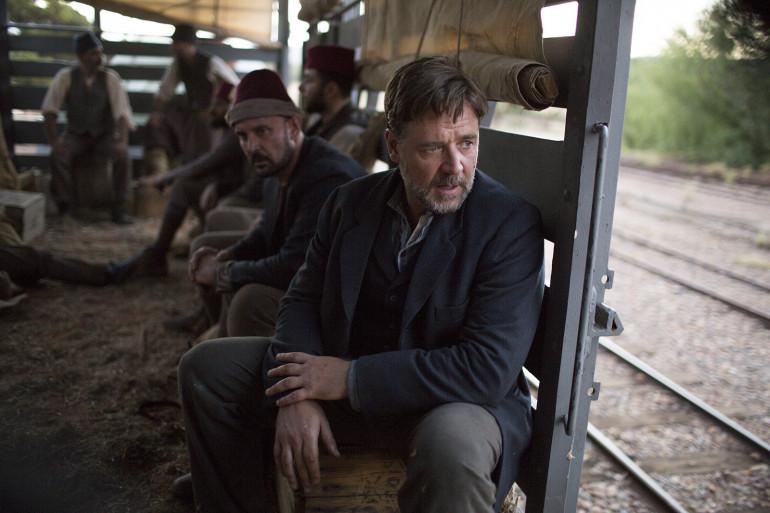 """Russel Crowe réalise et joue dans son premier film """"La Promesse d'une vie""""."""