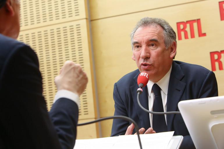François Bayrou, invité de RTL, le 16 avril 2015