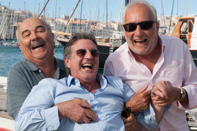 """Gérard Jugnot, Daniel Auteil et François Berléand jouent dans la nouvelle comédie d'Olivier Baroux, """"Entre amis"""""""