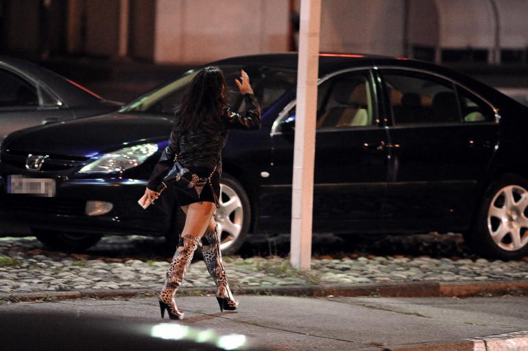 Une prostituée à Toulouse le 19 octobre 2013 (illustration)