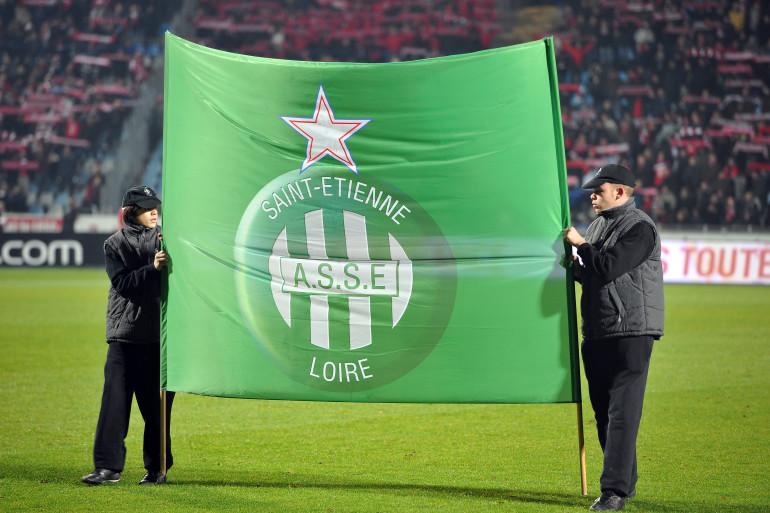 Le logo de l'AS Saint-Étienne