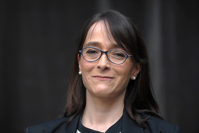 Delphine Ernotte le 17 mars 2015 à Paris