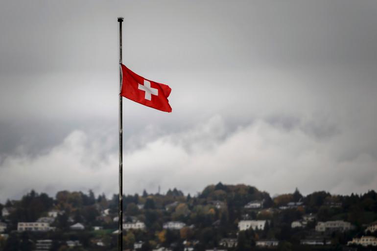 Le drapeau suisse (illustration)