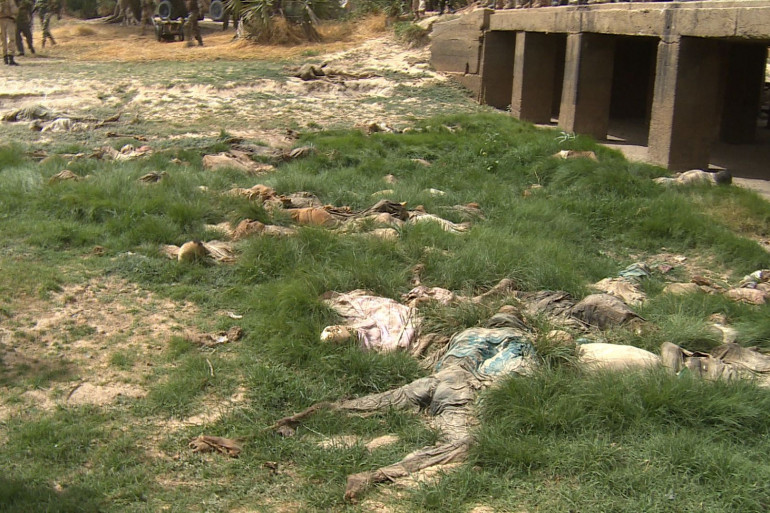 Des corps ont été retrouvés dans la rivière à sec de Damasak, au Nigeria