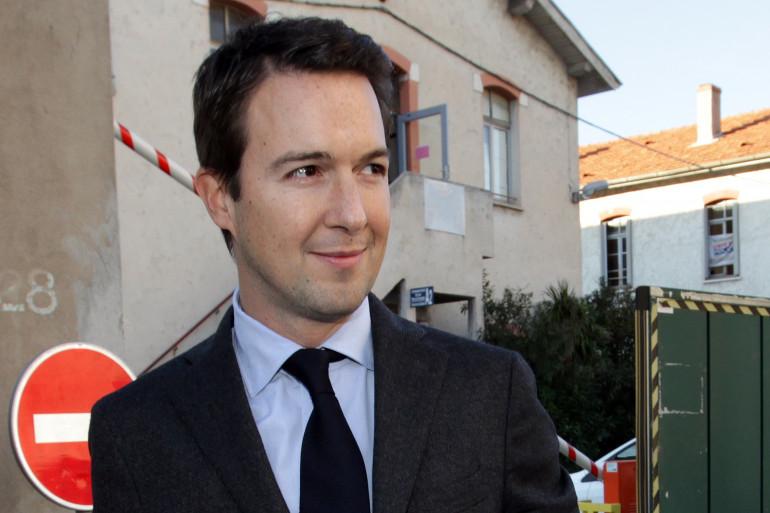 Guillaume Peltier le 11 décembre 2014 à Nice