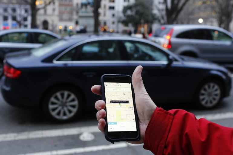 L'application Uber (illustration)