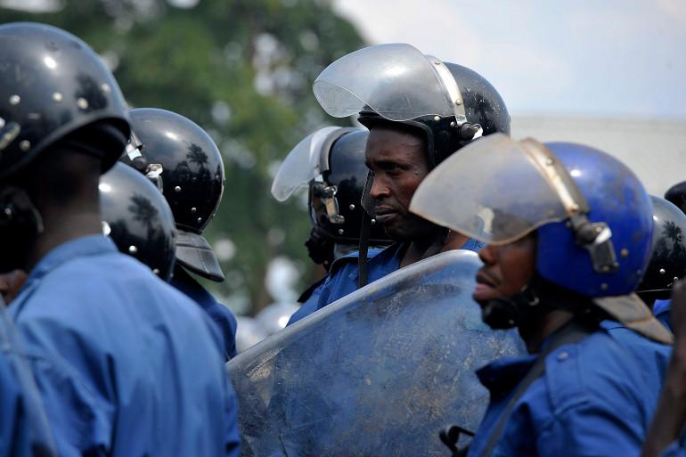 Des policiers burundais ont été attaqués à la Grenade vendredi 1er mai (Image d'archive)