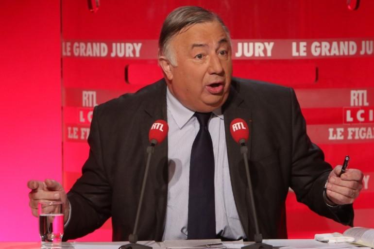 Gérard Larcher, le président du Sénat, le 3 mai 2015