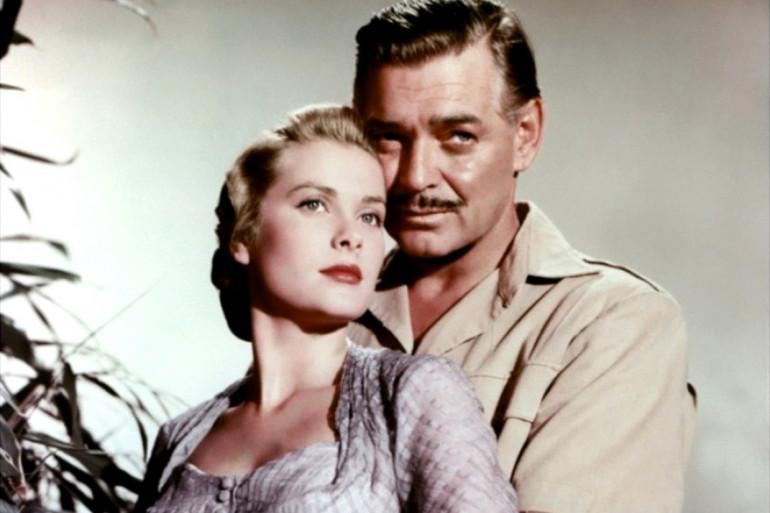 """Grace Kelly et Clark Gable dans """"Mogambo"""" de John Ford"""