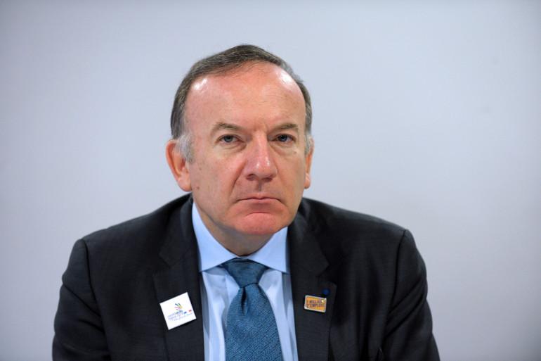 Pierre Gattaz le 3 avril 2015 à Paris