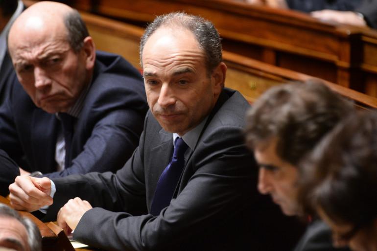 Jean-François Copé à l'Assemblée nationale.