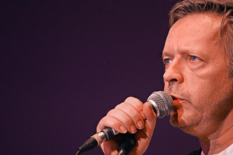 Le chanteur Renaud, le 24 octobre 2005