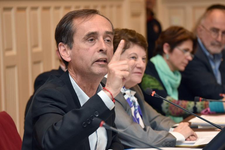 Robert Ménard le 5 mai 2015 à Béziers