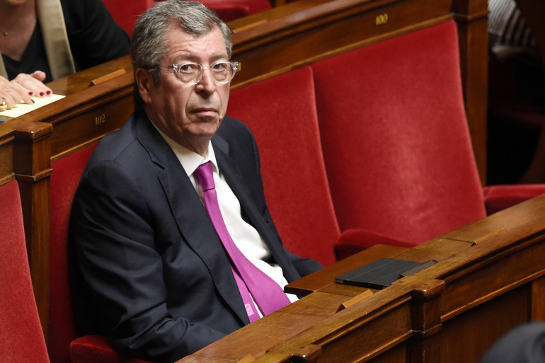 Patrick Balkany à l'Assemblée le 5 mai 2015