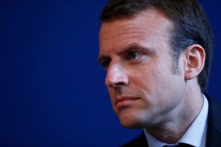 Le ministre de l'Économie Emmanuel Macron, le 12 mai 2015.