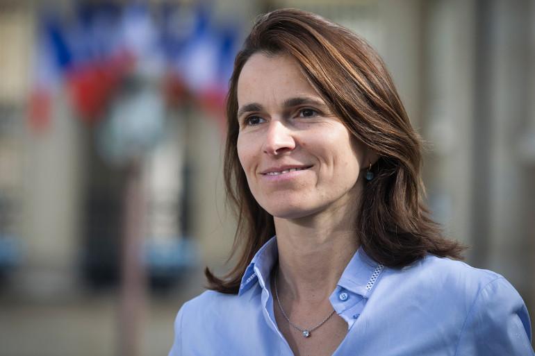 La députée socialiste et ancienne ministre de la Culture Aurélie Filippetti, le 11 mai 2015.