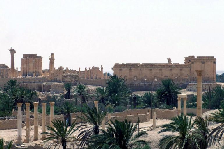 Située dans le centre du pays, la cité de Palmyre est classée au patrimoine mondial de l'Unesco