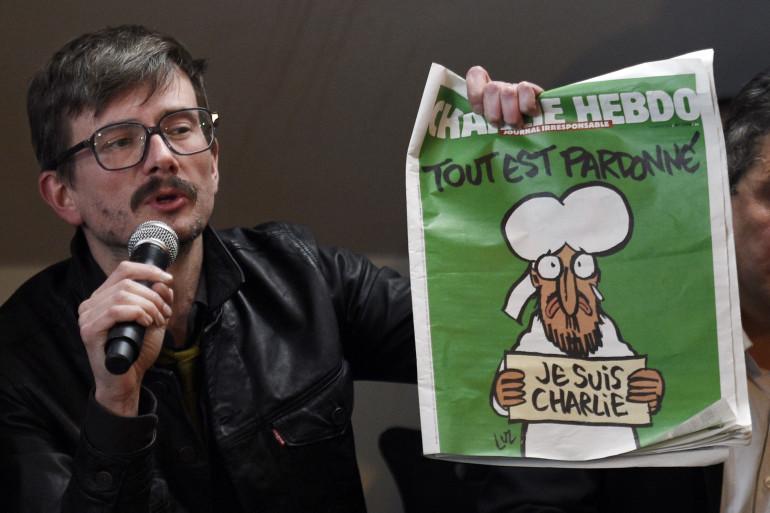 """Le dessinateur de """"Charlie Hebdo"""" Luz (archive)."""