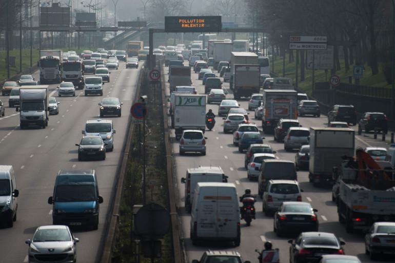 Paris est souvent victime de pics de pollution (illustration)