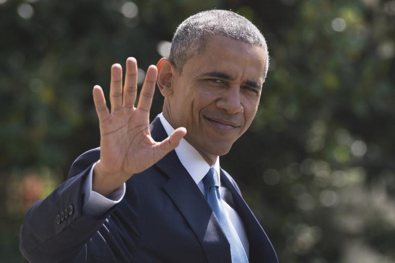 Barack Obama le 14 mai 2015 à Washington DC.