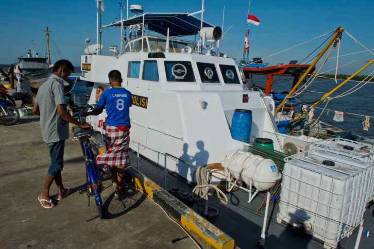 Des migrants birmans arrivés en Indonésie