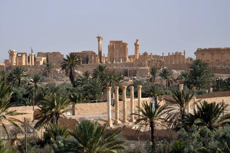La cité antique de Palmyre avant la prise de contrôle par l'EI