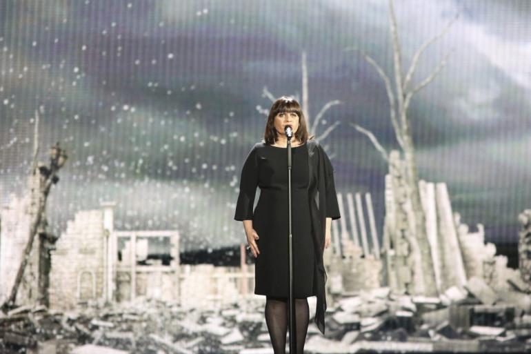 Lisa Angell a chanté pour la deuxième fois à Vienne mercredi 20 mai