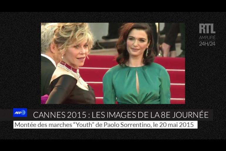 Jane Fonda de nouveau sur le tapis rouge, mercredi 20 mai 2015