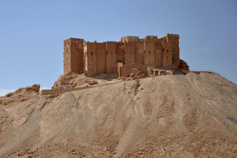 Le château de la ville syrienne de Palmyre, le 18 mai 2015