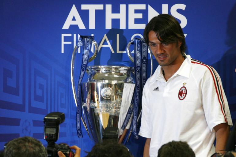Paolo Maldini le 22 mai 2007 à Athènes