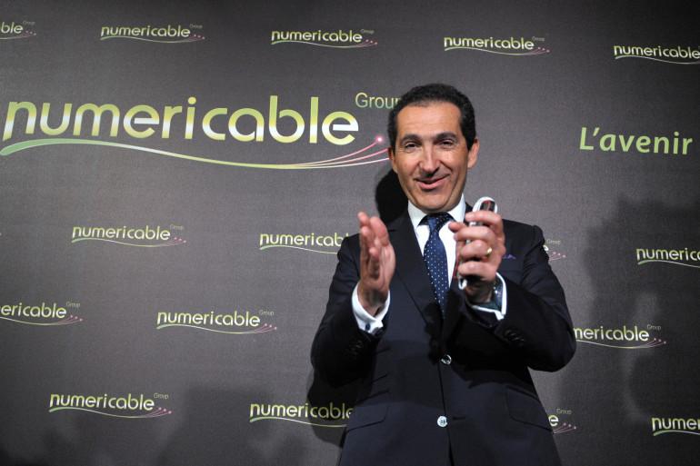 Le PDG de Numericable, Patrick Drahi