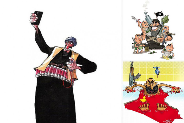L'Iran lance un concours de caricature de l'État islamique