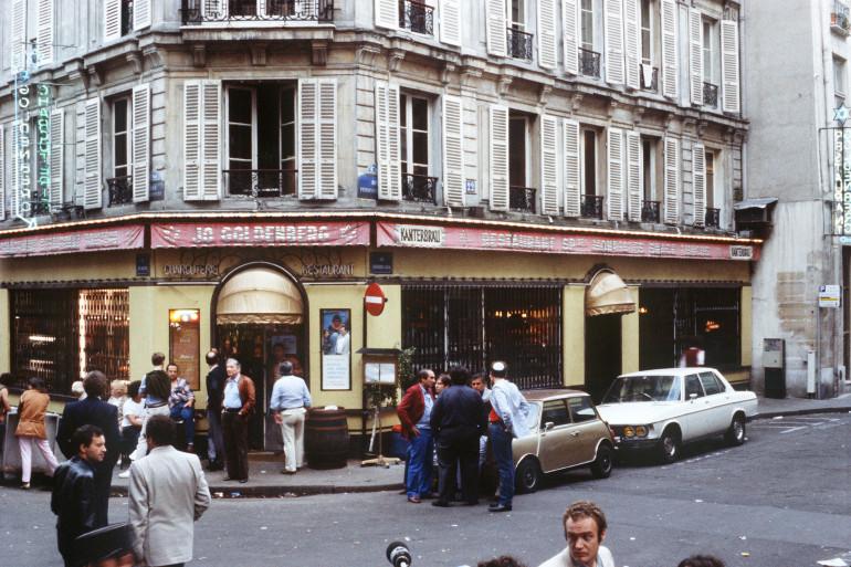 La restaurant Jo Goldenberg à Paris où a été perpétré l'attentat de la rue des Rosiers (archives)