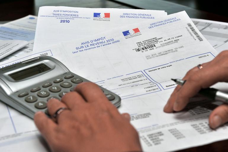 La collecte de l'impôt sur le revenu