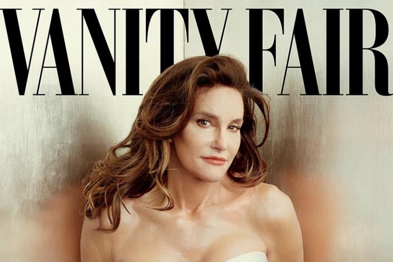 La photo de couverture de Vanity Fair où pose Caitlyn Jenner.