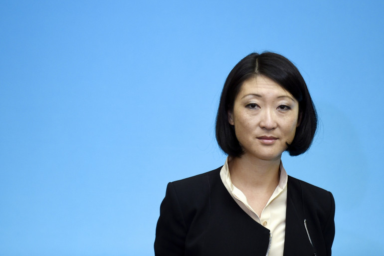 La ministre de la Culture Fleur Pellerin le 20 mai 2015.
