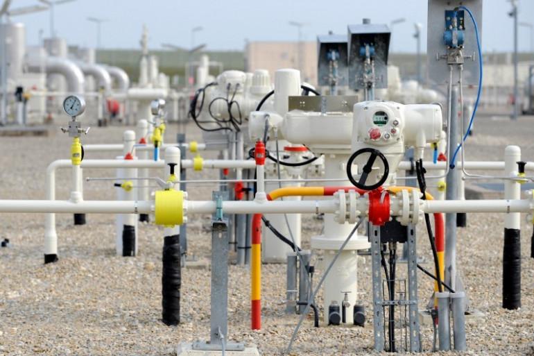 Une station de compression de gaz GRT-Gaz à Morelmaison