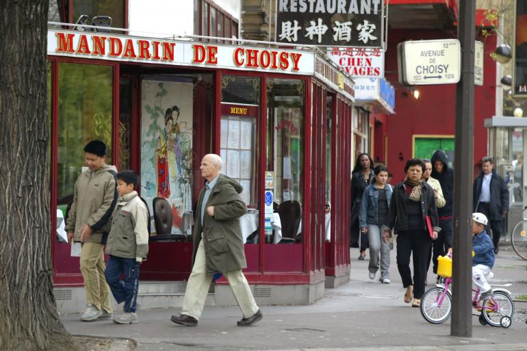Un restaurant chinois de Paris, en 2004 (illustration)