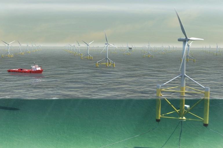 Nénuphar est à l'origine d'une innovation majeure dans le secteur de l'énergie éolienne en mer
