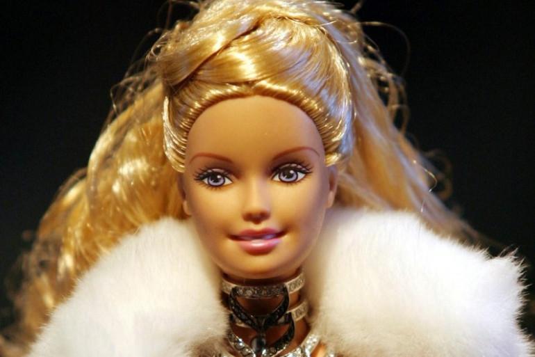 La présentation de la collection Barbie 2003, le 17 Juillet 2003