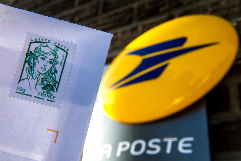 Un timbre de La Poste (illustration).