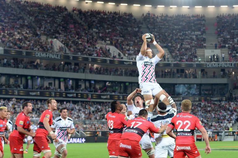 Le Stade français a dominé Toulon en conquête (5 juin 2015)