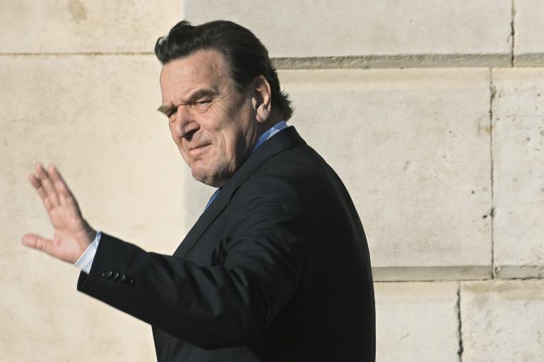 L'ancien chancelier allemand Gerhard Schröder