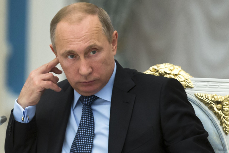 Vladimir Poutine le 2 juin 2015.